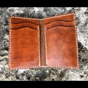 Handbags - Vertical thin leather wallet